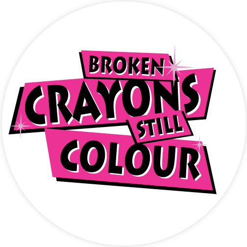 Broken Crayons Still Colour Sticker