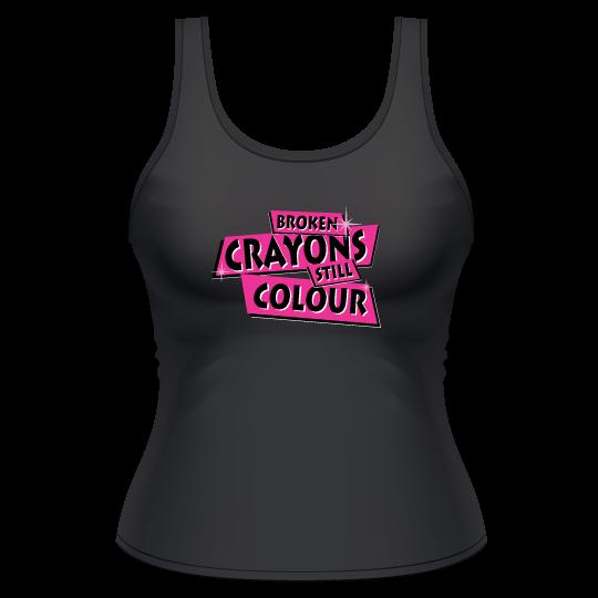 Broken Crayons Still Colour Tank Top